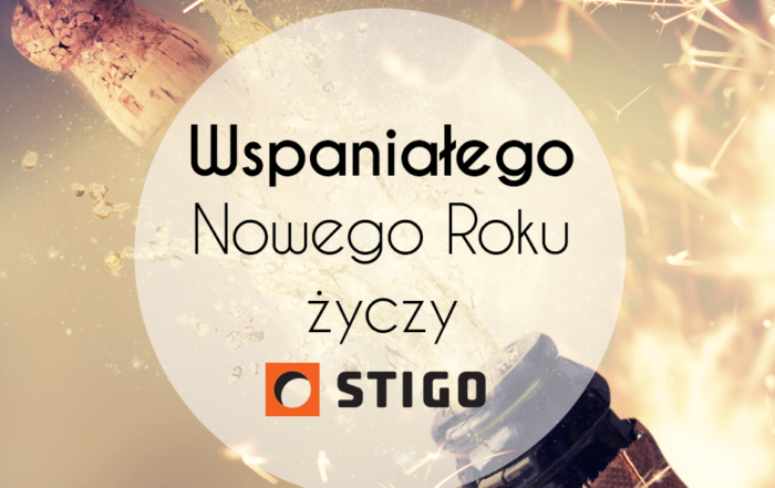 Życzenia Noworoczne od STIGO.