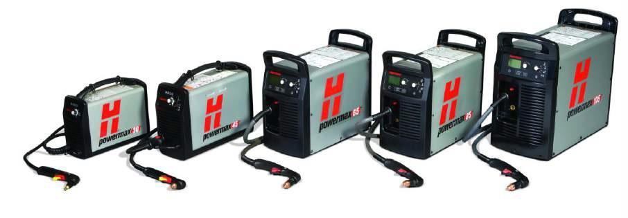 Wycinarki plazmowe Powermax Hypertherm.