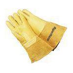 Skórzane rękawice do cięcia