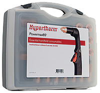 Zestaw materiałów eksploatacyjnych do Powermax65 - zastosowania ręczne.